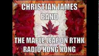 Christian James Band - Hong Kong Radio and Q107 boys on special Christmas Day Broadcast