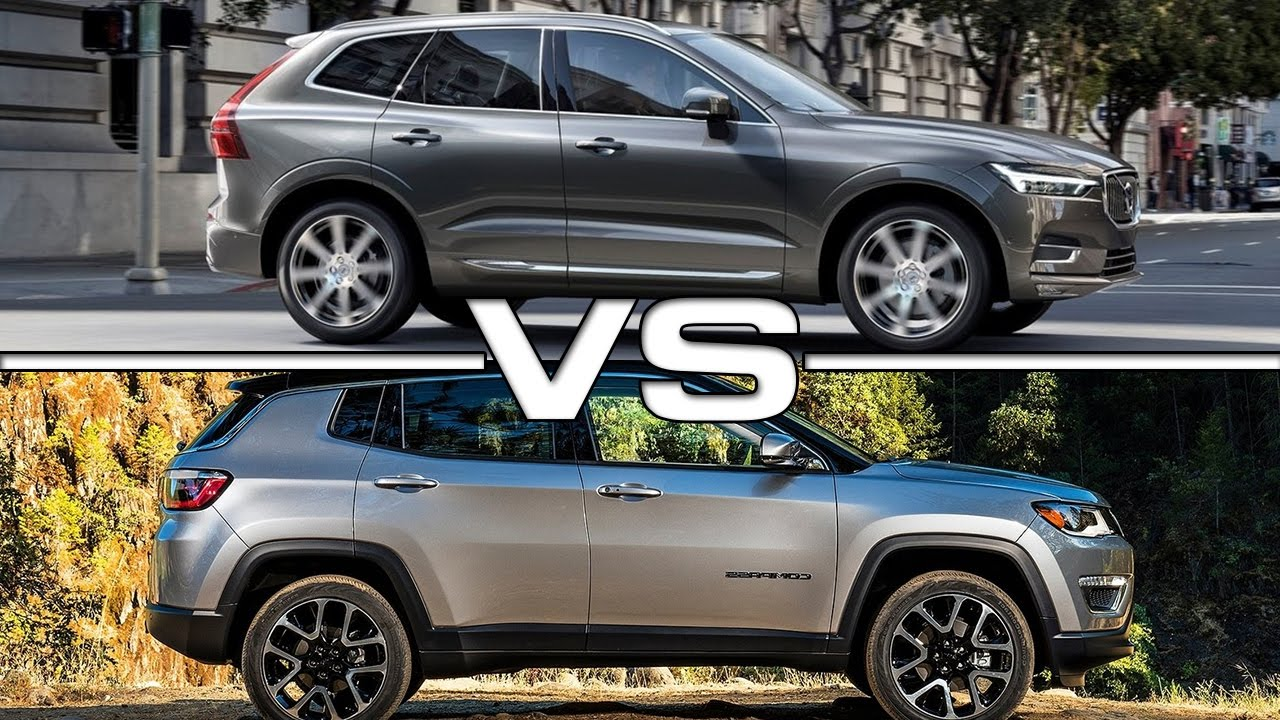 Essai Volvo Xc60 >> 2017 Volvo XC60 vs 2017 Jeep Compass - YouTube