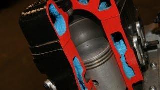 IFA DKW F7 MOTOR SCHNITTMOTOR SCHNITTMODELL AUTO UNION no F8 Tuning