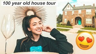 Airbnb 100 YEAR OLD HOUSE TOUR | Hobo Ahle
