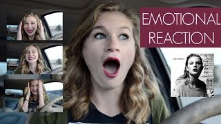 TAYLOR SWIFT - REPUTATION REACTION (FIRST LISTEN!!) *TEARS*