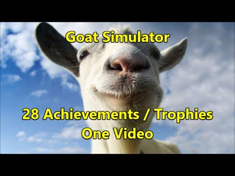 Goat Simulator - 100% Achievement Walkthrough (minus Collectibles)
