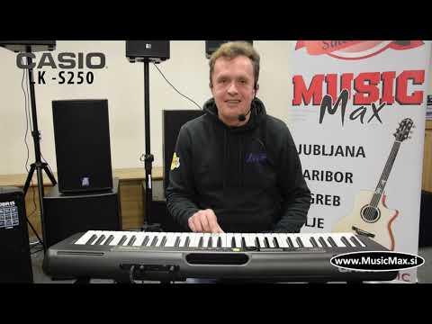 Casio LK-S250 Casiotone klaviatura