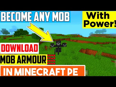 Mob Armor Mod For Minecraft Pe (Android iOS) Hindi