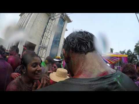 Hyatt Regency Kolkata West Bengal India Holi Festival 2016  Travel and Leisure