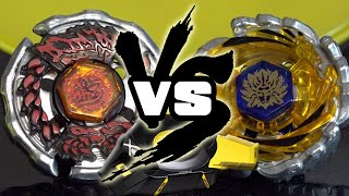 BATTLE: Tornado Bey Stadium Showdown: Ray Gil 100RSF VS Cyclone Herculeo 105F - Beyblade LEGENDS