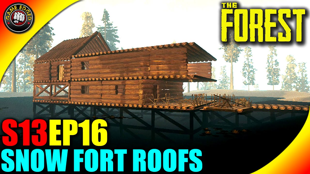 The Forest Gameplay - Custom Roofs, Bones and Skulls - S13EP16 ...