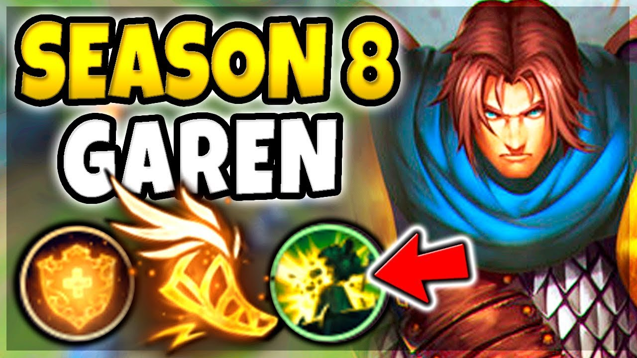NEW RUNES ON GAREN IN SEASON 8! CRAZY DAMAGE WITH THIS SETUP! - League of  Legends