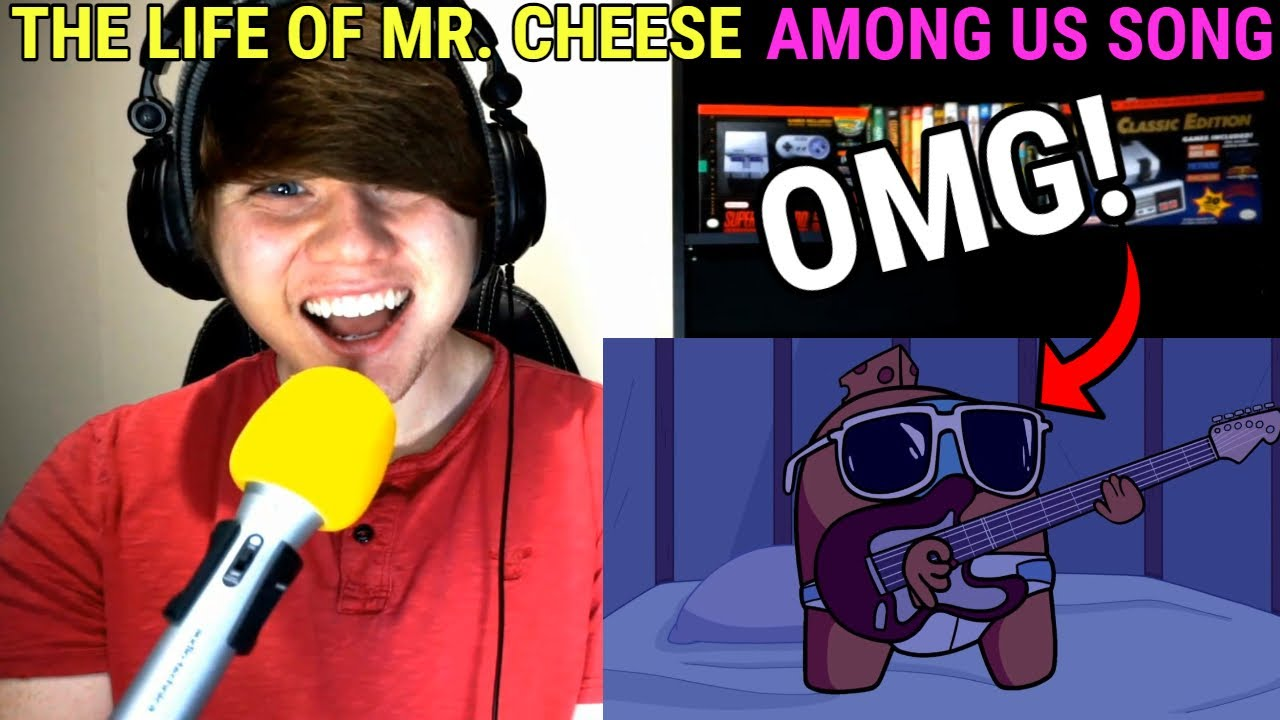 """Download """"The Life of Mr. Cheese"""" Among Us Song (Animated Music Video) @GameTunes REACTION!"""