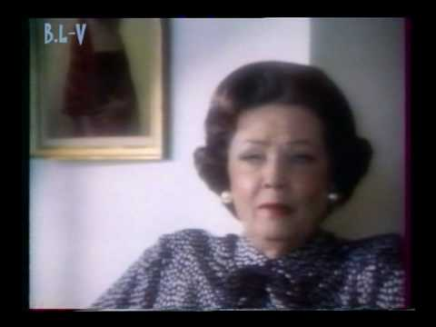 GENE TIERNEY -  Interview in HOUSTON 1985 2/2
