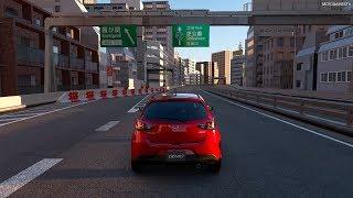 Gran Turismo Sport - Mazda Demio XD Touring (Mazda 2) '15 Gameplay [4K PS4 Pro]