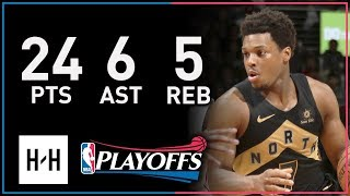 Kyle Lowry Full Game 6 Highlights Raptors vs Wizards 2018 NBA Playoffs - 24 Pts, 6 Ast, 5 Reb!