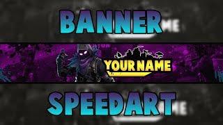 [FREE] Fortnite Banner - Banner Speedart #20 - Raven Skin