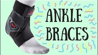 Volleyball Ankle Braces ⎮EXPLAINED