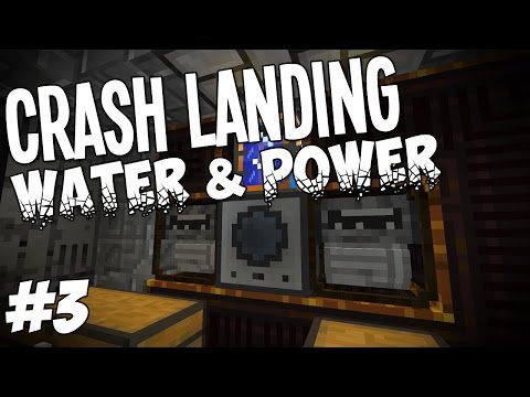 Crash Landing - Minecraft HQM - Water And Power #3