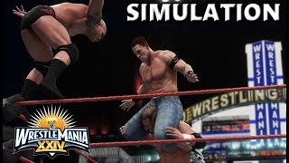 WWE 2K18 SIMULATION: JOHN CENA VS TRIPLE H VS RANDY ORTON | WRESTLEMANIA 24 HIGHLIGHTS