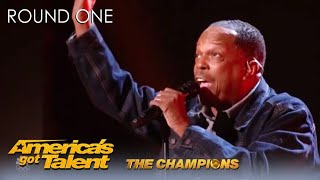 Mike Young: NY Subway Singer Is Back For ULTIMATE Second Chance on @America's Got Talent: Champions