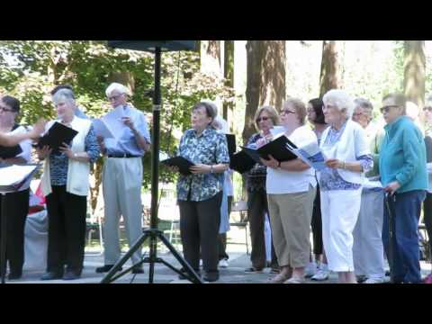 Outdoor Church Service in Hope BC