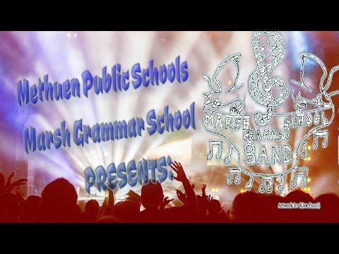 Marsh Grammar School 5th Grade Band 2016