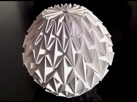 Papercraft How to make an Origami Magic Ball