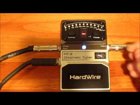 Digitech Hardwire HT-2 Tuner Review & Demo