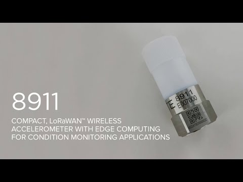 Compact LoRaWAN Wireless Accelerometer | 8911