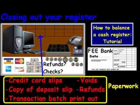 cash drawer balancing