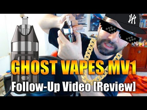 GHOST VAPES MV1: FOLLOW-UP VIDEO [REVIEW] 5 MONTHS LATER…