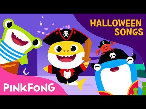 Pirate Baby Shark | Halloween Songs | Pinkfong Songs for Children