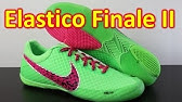 best service 26e6c 98e48 Nike5 Elastico Finale - Baltic Blue Blueprint Hot Lime Indoor Soccer ...