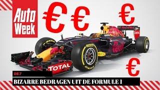 De 7 bizarre bedragen uit de Formule 1
