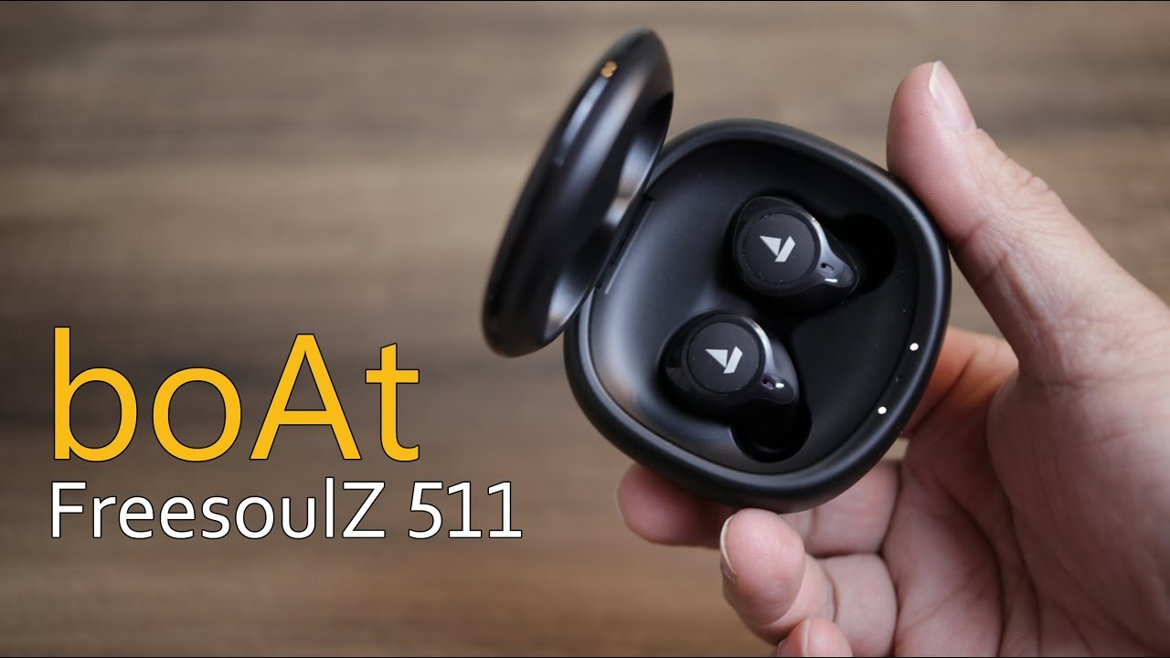 ef268b35313 boAt FreesoulZ 511 review - True Wireless Earphones, Bluetooth 5.0, Premium  Black