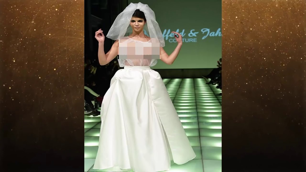Most Inappropriate Wedding Dresses - YouTube