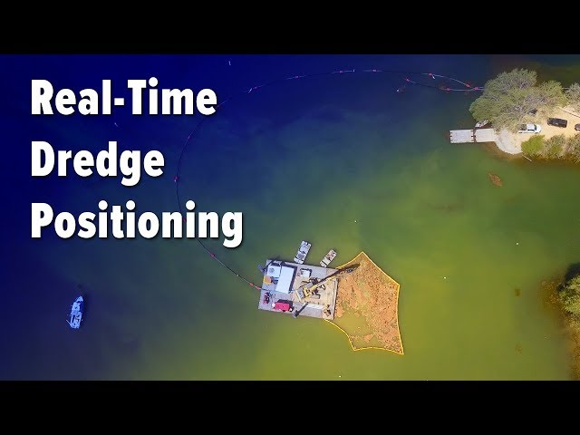 Real-Time Dredge Positioning System - By EDDY Pump