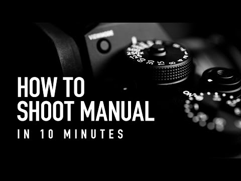 How to Shoot Manual in 10 Minutes - Beginner Photography Tutorial