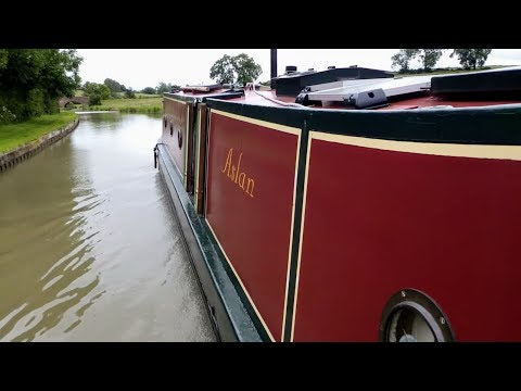4. Narrowboat Launch Day and the Maiden Voyage . . .