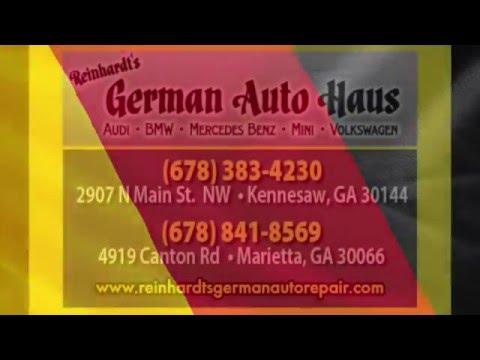German Auto Repair in Marietta ~ Reinhardt's German Auto Haus ~ German Auto Repair in Kennesaw