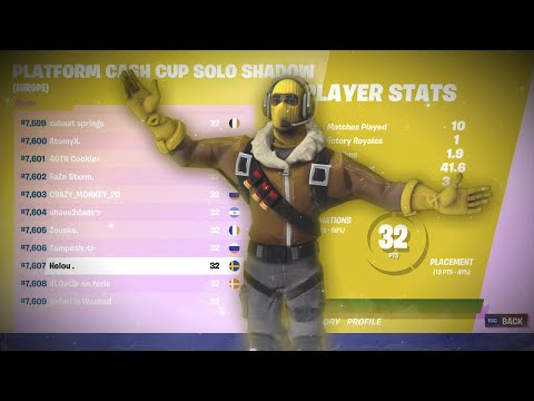 How I placed 7607th in the Solo Cash Cup ($0)