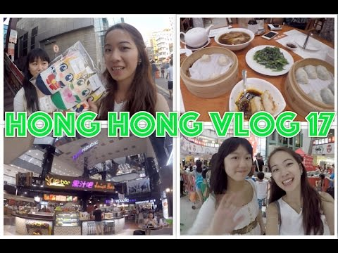 Hong Kong Vlog 17 ☁ Dragon Centre shopping, Din Tai Fung favourites, dessert hunting