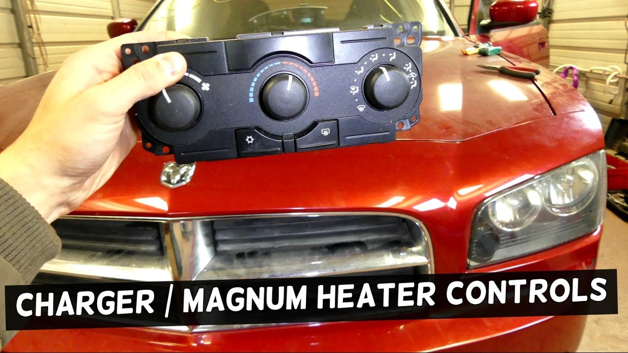 Dodge Charger Heater Controls A C Replacement Heating Zone Valve Wiring Diagram Magnum Youtube