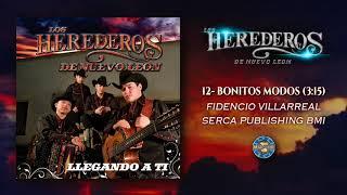 Los Herederos de Nuevo León - Bonitos Modos ( Audio Oficial )