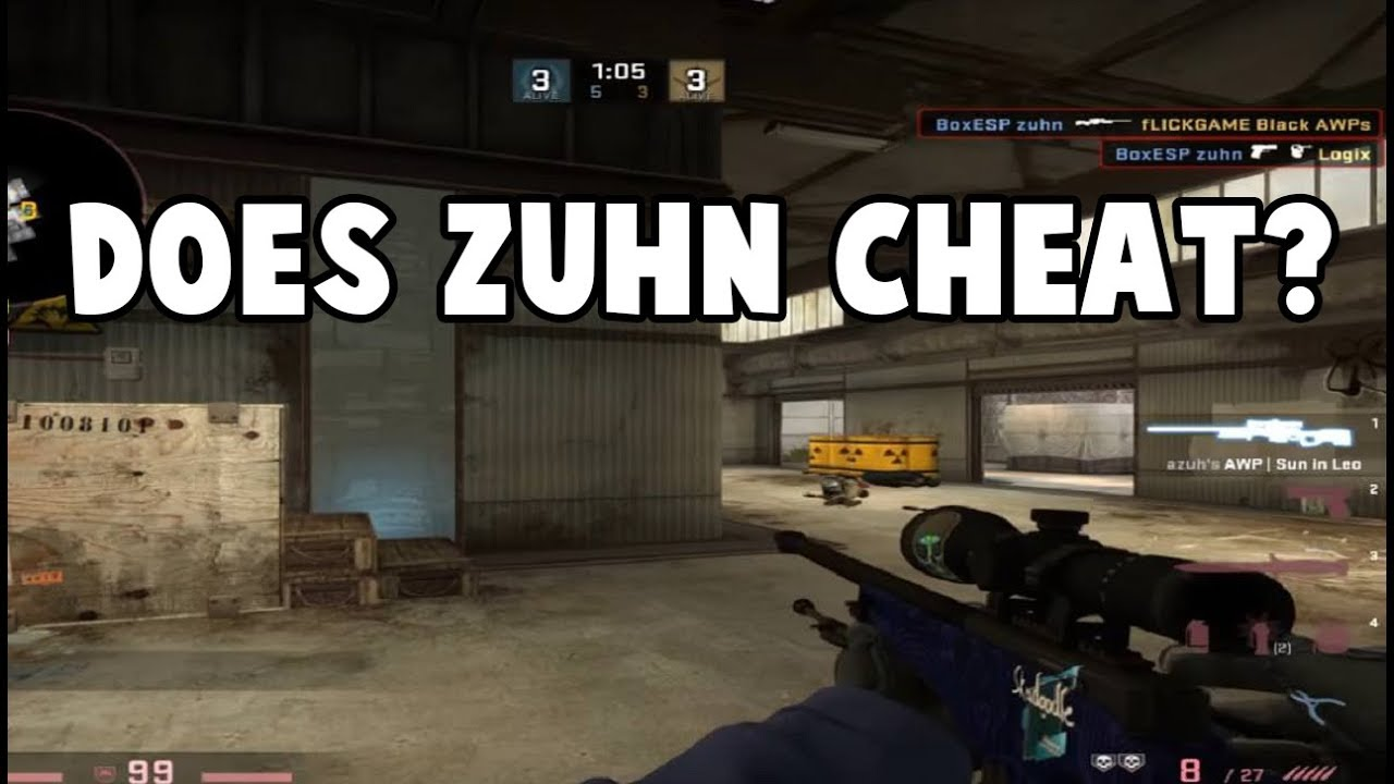 Zuhn is actually cheating (xZuhn exposed) - Смотреть видео