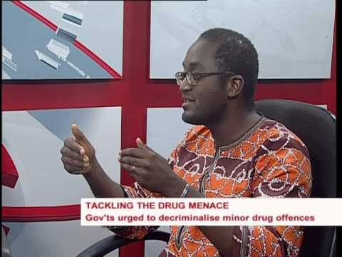 West Africa Commission on Drugs on Drug Trafficking Menace in West Africa on News @10 on TV3
