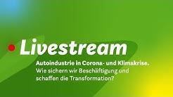 Autoindustrie in Corona- und Klimakrise. Wie sichern wir Beschäftigung & schaffen die Transformation
