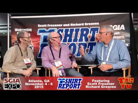 T-Shirt Report SGIA 2015 - Inteview with Jim Larson - Shurloc