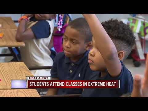 Detroit public schools superintendent asks staff to 'work through the heat'