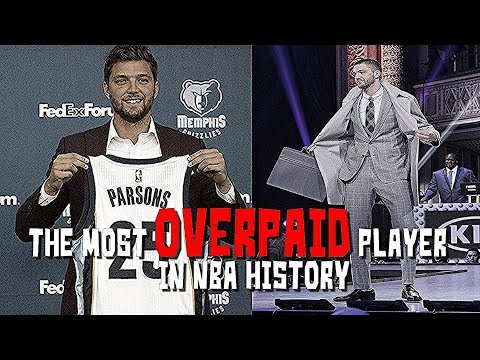 The Most OVERPAID Player in NBA History