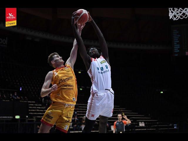 [FullMatch] UNAHOTELS Reggio Emilia - Carpegna Prosciutto Basket Pesaro: 91-79
