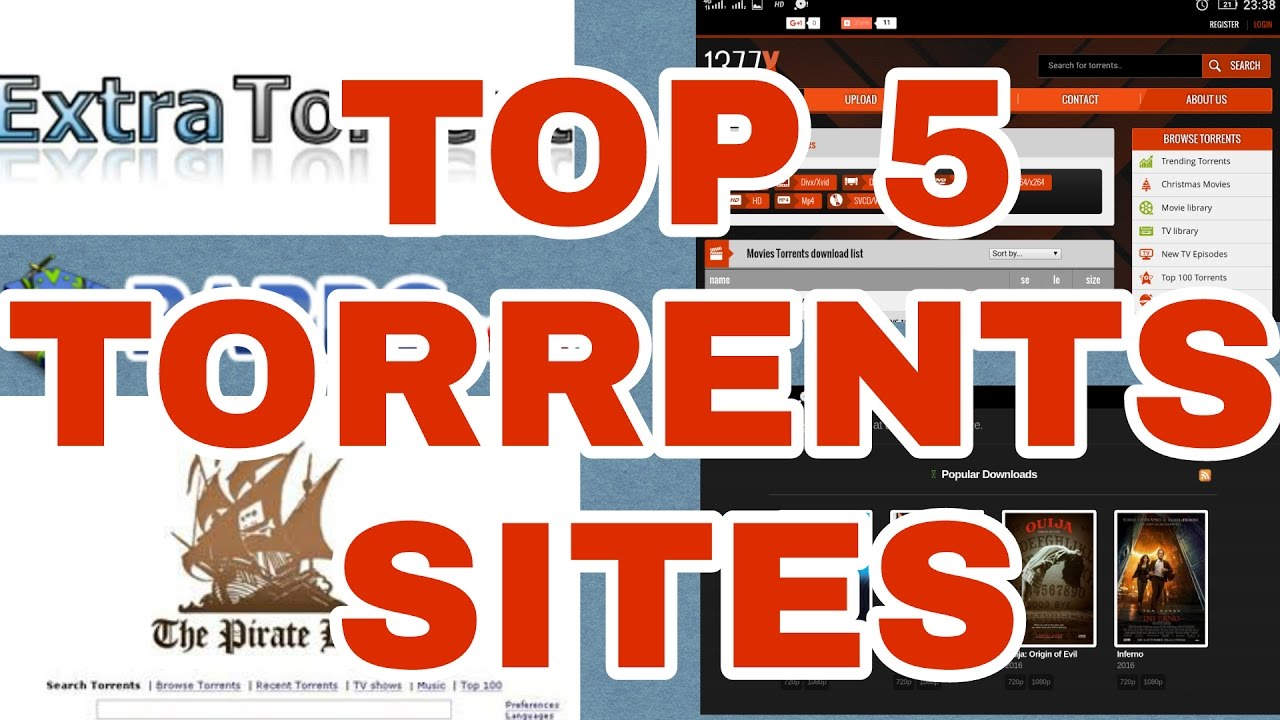 TOP 5 Working Torrent Sites With Proof | 1377x to, extra to, rarbg to, etc  [2017]