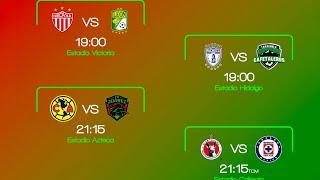 Resultados Y Goles Octavos de Final Copa MX Hoy 25 de Septiembre